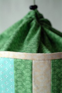 patchwork panel on bagsket