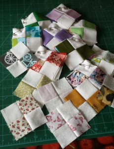 Quiltville Leader and Ender quilting project
