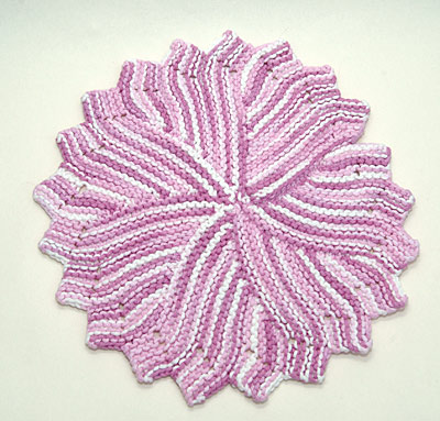 Round Dishcloth