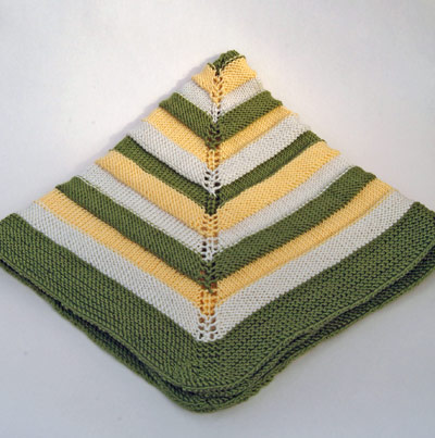 Ribbons Baby Blanket