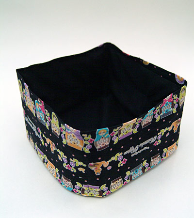 Black Russian Dolls fabric box
