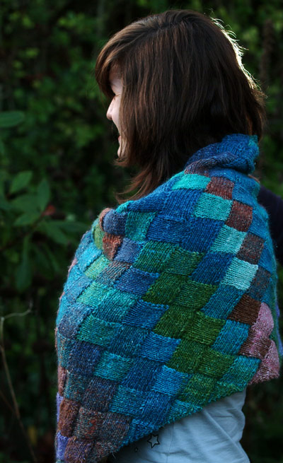 Lady Eleanor shawl