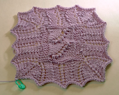 Estonian Lace sample