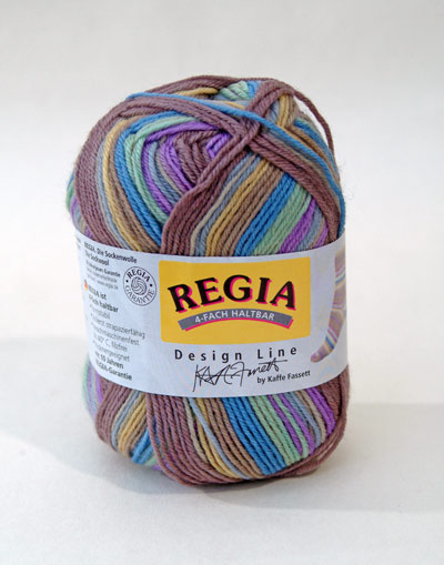 gift of Regia Design Line Kaffe Fassett in Landscape Mist from The Woolly Workshop