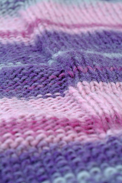 Big Bad Baby Blanket from 'Stitch & Bitch: The Knitters Handbook'