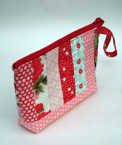 Strippy Charm Pouch in Moda Bliss